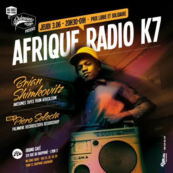 Afrique Radio K7